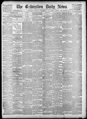 Primary view of object titled 'The Galveston Daily News. (Galveston, Tex.), Vol. 38, No. 228, Ed. 1 Saturday, December 13, 1879'.
