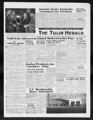 Primary view of object titled 'The Tulia Herald (Tulia, Tex), Vol. 50, No. 11, Ed. 1, Thursday, March 19, 1959'.