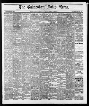 Primary view of object titled 'The Galveston Daily News. (Galveston, Tex.), Vol. 37, No. 60, Ed. 1 Saturday, June 1, 1878'.