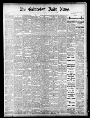 Primary view of object titled 'The Galveston Daily News. (Galveston, Tex.), Vol. 37, No. 296, Ed. 1 Tuesday, March 4, 1879'.