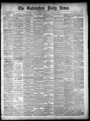 Primary view of object titled 'The Galveston Daily News. (Galveston, Tex.), Vol. 39, No. 248, Ed. 1 Thursday, January 6, 1881'.