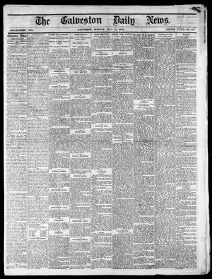 Primary view of object titled 'The Galveston Daily News. (Galveston, Tex.), Vol. 34, No. 162, Ed. 1 Tuesday, July 14, 1874'.