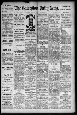 Primary view of The Galveston Daily News. (Galveston, Tex.), Vol. 43, No. 126, Ed. 1 Saturday, August 16, 1884