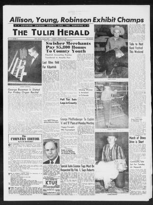 Primary view of object titled 'The Tulia Herald (Tulia, Tex), Vol. 50, No. 5, Ed. 1, Thursday, January 29, 1959'.