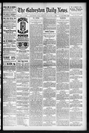 Primary view of object titled 'The Galveston Daily News. (Galveston, Tex.), Vol. 43, No. 229, Ed. 1 Monday, December 8, 1884'.