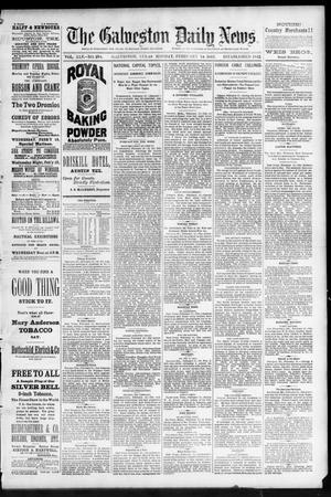 Primary view of The Galveston Daily News. (Galveston, Tex.), Vol. 45, No. 294, Ed. 1 Monday, February 14, 1887
