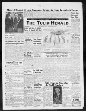 Primary view of object titled 'The Tulia Herald (Tulia, Tex), Vol. 50, No. 3, Ed. 1, Thursday, January 15, 1959'.
