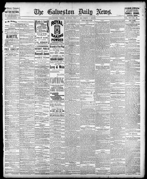 Primary view of object titled 'The Galveston Daily News. (Galveston, Tex.), Vol. 41, No. 40, Ed. 1 Sunday, May 7, 1882'.