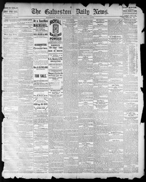 Primary view of The Galveston Daily News. (Galveston, Tex.), Vol. 42, No. 349, Ed. 1 Wednesday, March 5, 1884