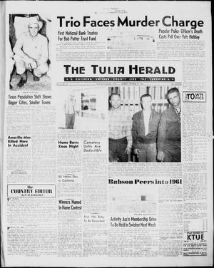 Primary view of object titled 'The Tulia Herald (Tulia, Tex), Vol. 51, No. 52, Ed. 1, Thursday, December 29, 1960'.