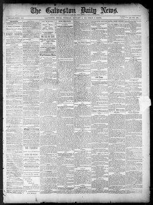 Primary view of object titled 'The Galveston Daily News. (Galveston, Tex.), Vol. 39, No. 246, Ed. 1 Tuesday, January 4, 1881'.