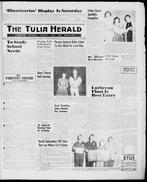 Primary view of object titled 'The Tulia Herald (Tulia, Tex), Vol. 51, No. 51, Ed. 1, Thursday, December 22, 1960'.