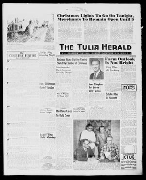 Primary view of object titled 'The Tulia Herald (Tulia, Tex), Vol. 61, No. 48, Ed. 1, Thursday, December 1, 1960'.