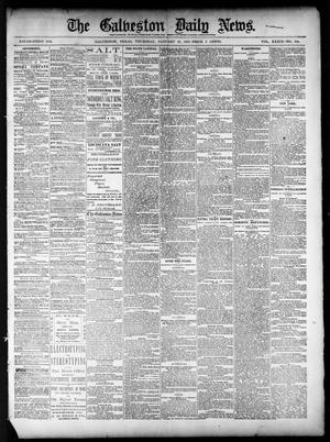 Primary view of object titled 'The Galveston Daily News. (Galveston, Tex.), Vol. 39, No. 266, Ed. 1 Thursday, January 27, 1881'.