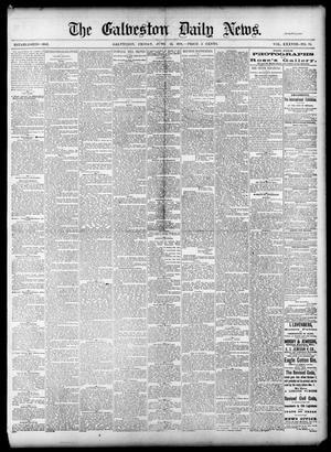 Primary view of The Galveston Daily News. (Galveston, Tex.), Vol. 38, No. 70, Ed. 1 Friday, June 13, 1879