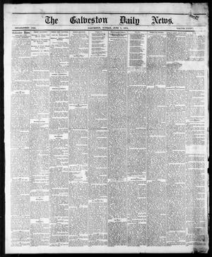 Primary view of object titled 'The Galveston Daily News. (Galveston, Tex.), Vol. 34, No. 131, Ed. 1 Sunday, June 7, 1874'.