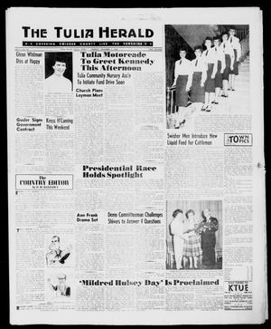 Primary view of object titled 'The Tulia Herald (Tulia, Tex), Vol. 51, No. 44, Ed. 1, Thursday, November 3, 1960'.