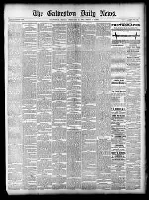 Primary view of object titled 'The Galveston Daily News. (Galveston, Tex.), Vol. 37, No. 293, Ed. 1 Friday, February 28, 1879'.