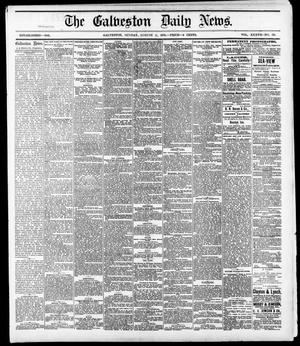 Primary view of object titled 'The Galveston Daily News. (Galveston, Tex.), Vol. 37, No. 121, Ed. 1 Sunday, August 11, 1878'.