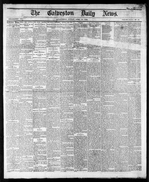 Primary view of object titled 'The Galveston Daily News. (Galveston, Tex.), Vol. 34, No. 89, Ed. 1 Sunday, April 19, 1874'.