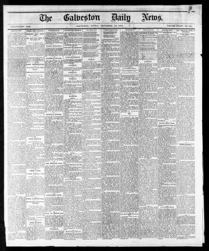 Primary view of object titled 'The Galveston Daily News. (Galveston, Tex.), Vol. 34, No. 215, Ed. 1 Sunday, September 13, 1874'.