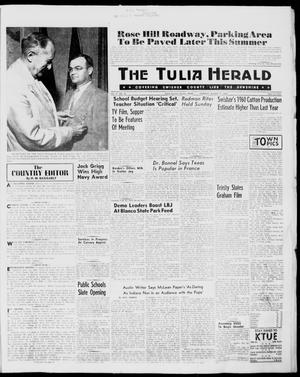 Primary view of object titled 'The Tulia Herald (Tulia, Tex), Vol. 51, No. 32, Ed. 1, Thursday, August 11, 1960'.