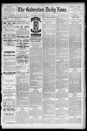 Primary view of The Galveston Daily News. (Galveston, Tex.), Vol. 43, No. 39, Ed. 1 Friday, May 2, 1884