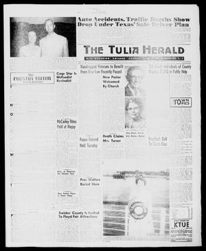 Primary view of object titled 'The Tulia Herald (Tulia, Tex), Vol. 51, No. 31, Ed. 1, Thursday, August 4, 1960'.