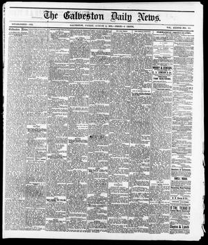 Primary view of The Galveston Daily News. (Galveston, Tex.), Vol. 37, No. 113, Ed. 1 Friday, August 2, 1878
