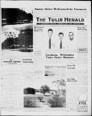 Primary view of object titled 'The Tulia Herald (Tulia, Tex), Vol. 51, No. 24, Ed. 1, Thursday, June 16, 1960'.
