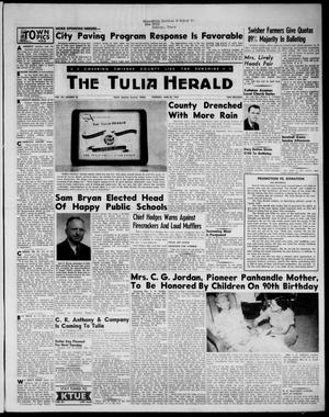 Primary view of object titled 'The Tulia Herald (Tulia, Tex), Vol. 48, No. 26, Ed. 1, Thursday, June 30, 1955'.