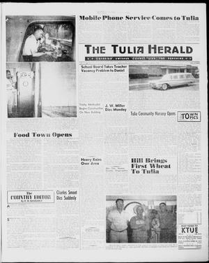 Primary view of object titled 'The Tulia Herald (Tulia, Tex), Vol. 51, No. 23, Ed. 1, Thursday, June 9, 1960'.
