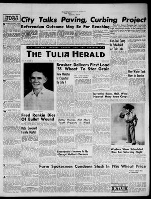 The Tulia Herald (Tulia, Tex), Vol. 48, No. 25, Ed. 1, Thursday, June 23, 1955