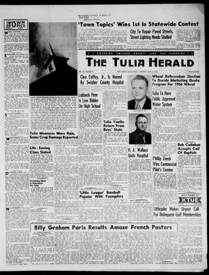 The Tulia Herald (Tulia, Tex), Vol. 48, No. 24, Ed. 1, Thursday, June 16, 1955