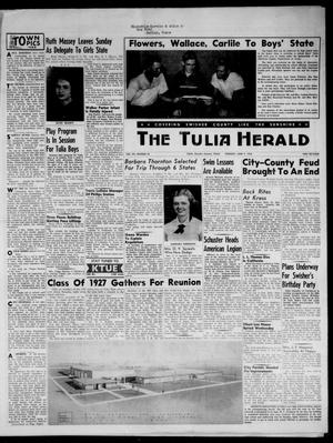 The Tulia Herald (Tulia, Tex), Vol. 48, No. 23, Ed. 1, Thursday, June 9, 1955