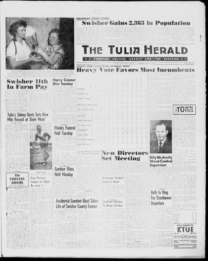 Primary view of object titled 'The Tulia Herald (Tulia, Tex), Vol. 51, No. 19, Ed. 1, Thursday, May 12, 1960'.