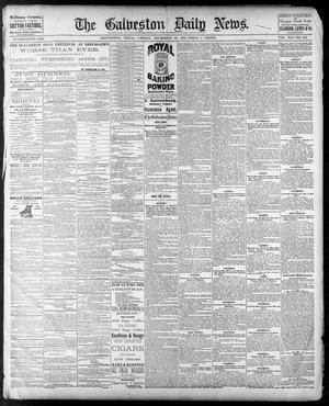 Primary view of object titled 'The Galveston Daily News. (Galveston, Tex.), Vol. 41, No. 242, Ed. 1 Friday, December 29, 1882'.