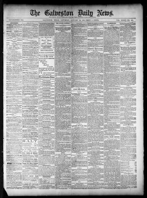 Primary view of object titled 'The Galveston Daily News. (Galveston, Tex.), Vol. 39, No. 268, Ed. 1 Saturday, January 29, 1881'.