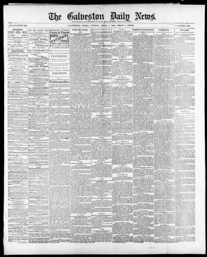 Primary view of object titled 'The Galveston Daily News. (Galveston, Tex.), Vol. 39, No. 11, Ed. 1 Sunday, April 4, 1880'.