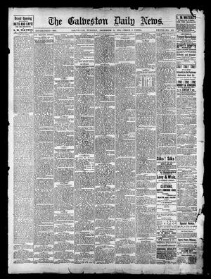Primary view of object titled 'The Galveston Daily News. (Galveston, Tex.), Vol. 37, No. 242, Ed. 1 Tuesday, December 31, 1878'.