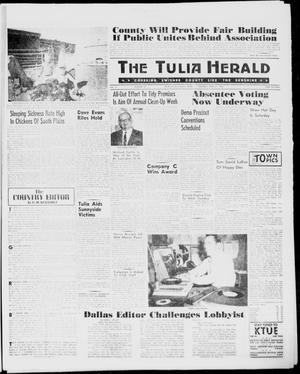 Primary view of object titled 'The Tulia Herald (Tulia, Tex), Vol. 51, No. 16, Ed. 1, Thursday, April 21, 1960'.