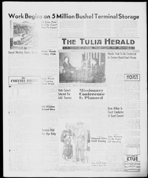 Primary view of object titled 'The Tulia Herald (Tulia, Tex), Vol. 51, No. 9, Ed. 1, Thursday, March 3, 1960'.