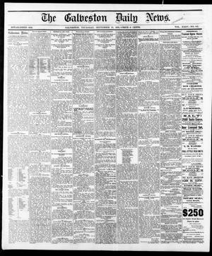 Primary view of object titled 'The Galveston Daily News. (Galveston, Tex.), Vol. 35, No. 162, Ed. 1 Thursday, September 28, 1876'.