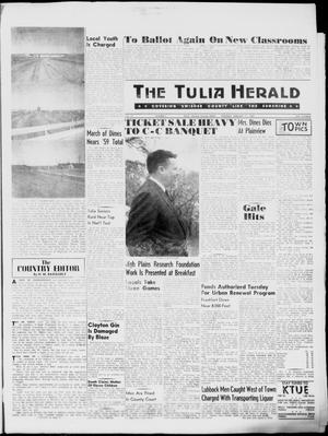Primary view of object titled 'The Tulia Herald (Tulia, Tex), Vol. 51, No. 6, Ed. 1, Thursday, February 11, 1960'.