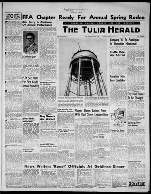 Primary view of object titled 'The Tulia Herald (Tulia, Tex), Vol. 48, No. 15, Ed. 1, Thursday, April 14, 1955'.