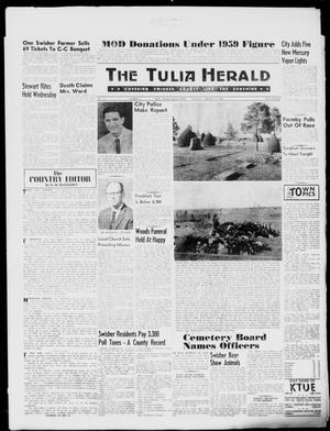 Primary view of object titled 'The Tulia Herald (Tulia, Tex), Vol. 51, No. 5, Ed. 1, Thursday, February 4, 1960'.