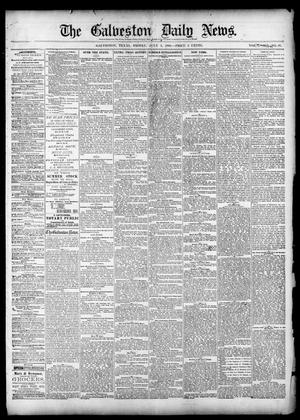 Primary view of object titled 'The Galveston Daily News. (Galveston, Tex.), Vol. 39, No. 87, Ed. 1 Friday, July 2, 1880'.
