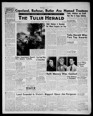 Primary view of object titled 'The Tulia Herald (Tulia, Tex), Vol. 48, No. 14, Ed. 1, Thursday, April 7, 1955'.