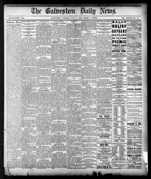 Primary view of object titled 'The Galveston Daily News. (Galveston, Tex.), Vol. 37, No. 68, Ed. 1 Tuesday, June 11, 1878'.