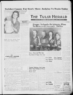 Primary view of object titled 'The Tulia Herald (Tulia, Tex), Vol. 51, No. 3, Ed. 1, Thursday, January 21, 1960'.